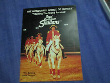 Wonderful World of Horse Royal Lipizzaner Stallion Dancing White Program History