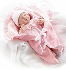 Berenguer La Newborn  Bunting Baby Doll  pacifier, bottle Made in Spain 18780