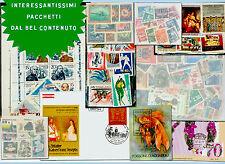 SUPER  PACCHETTO francobolli-stamps - timbres - Briefmark MIX IN  OFFERTA
