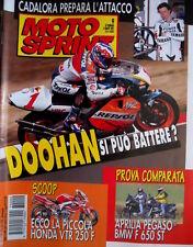 Motosprint 9 1997 Cadalora prepara l'attacco. Doohan si può battere? Honda VTR