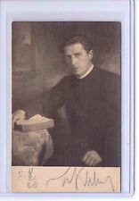 VTG ACTOR WILKELM KLITSCH WIEN AUSTRIA PHOTO POSTCARD