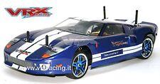 X-RANGER GT BRUSHLESS BATTERIA LIPO 7,4V RADIO 2.4 + KIT LUCI 4WD 1:10 VRX 1026B