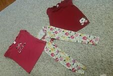 Girls gymboree lot size 7 size 10 used leggings shirts