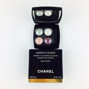 Chanel Ombres Fleuries Quadra Eye Shadow Lidschatten Delicatesse 4g NEU OVP