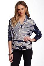 Young Fabulous& Broke tie dye Fleece Indha Cowl neck Sweater Small  NWT