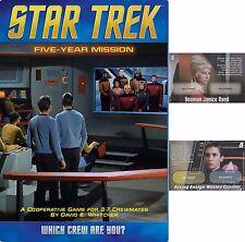 Star Trek Five Year Mission w/ Promo Card Board Game Mayfair Games MFG 4139 5