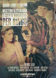 3 COLPI DI WINCHESTER.. - SERGIO LEONE I GRANDI WESTERN ALL'ITALIANA - DVD NUOVO