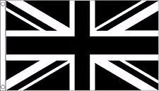 noir et blanc DRAPEAU UNION JACK 8 'X5'
