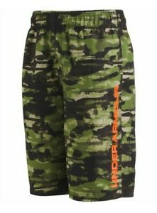 Under Armour Boys' Camo-Print Grit Volley Swimsuit - YXL - NWT - MSRP$38.00