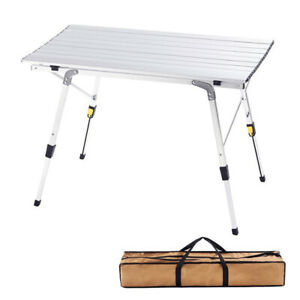 Camping Table Folding Camping Table Aluminum Legs Portable Table Picnic