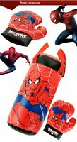 Spiderman Boxsack für Kinder Idealer Bewegung- Lern & Spaß