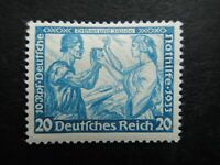 Germany Nazi 1933 Stamp MINT Tristan und Isolde German Empire Wagner Nothilfe Th