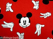 17,80 EUR/Lfm Mickey Maus Jersey Leichtes Sweatshirt Baumwolle Pumphose