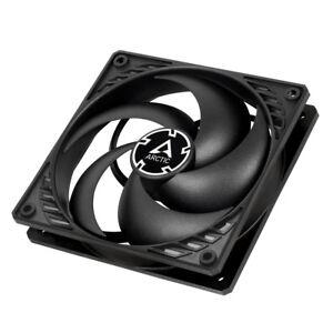 Arctic P12 PWM 12cm Pressure Optimised Computer Case Fan, Black & Black