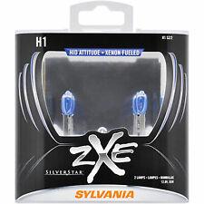 SYLVANIA H1 SilverStar zXe High Performance Halogen Headlight Bulb, 2 Bulbs