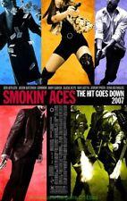 SMOKIN ACES MOVIE POSTER Original DS 27x40 ALICIA KEYS 2007 ACTION Film