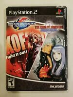 King Of Fighters 00/01 | Sony PlayStation 2 PS2 Game | 2000 2001 | 2 Discs