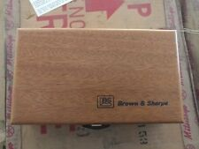 Brown and Sharpe 599-264-9999 Wooden Case