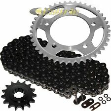 Black O-Ring Drive Chain & Sprockets Kit Fits HONDA CBR600F2 CBR600F3 CBR600SJR
