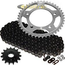 Black O-Ring Drive Chain & Sprockets Kit Fits HONDA CBR600F2 CBR600F3 CBR600SJR