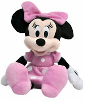 "NWT Disney Minnie Mouse 11 "" Plush Beanbag Doll - Stuffed Toy Authentic Licensed"