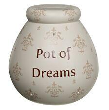 Fleur-de-Lys Pots of Dreams Tirelire Cadeaux Save up & Smash Spécial Idées Cadeau