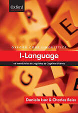 I-language: An Introduction to Linguistics as Cognitive Science by Daniela Is...