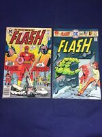 Flash #236, 246(Neal Adams Cover) DC 2 Issue Lot