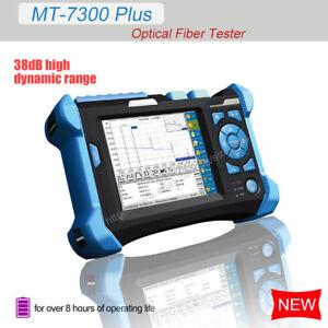 5.6'' Optical Time Domain Reflectometer 38dB 1310/1550nm w/VFL OTDR MT-7300 Plus