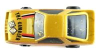 Tonka The Gambler Vintage Race Car Small Toy Old Tan Dice Gambling Plastic