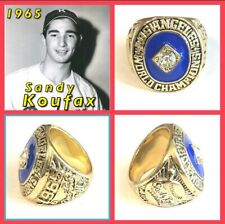Los Angeles Dodgers Sandy Koufax 1965 Championship Ring Size 11