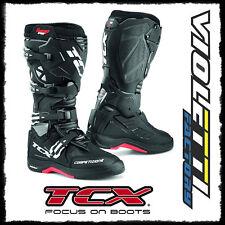 TCX comp evo 2 Michelin black TG. 42 STIVALI NERO NERI CROSS ENDURO