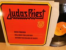 "Judas Priest: Rock Forever (strongVG++ RARE '81 CBS Holland 3-track 12"" Single)"