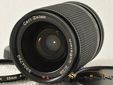 CONTAX Carl Zeiss T* Distagon 28mm F2 AEG [EXCELLENT] from Japan (10307)