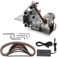 Portable Grinder Electric Belt Sander Polishing &Speed Control Power Supply F1R3