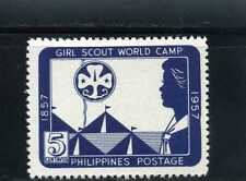 GIRLS SCOUTS OF PHILIPPINES-  'WORLD'  CENT.  1857- 1957  MNH