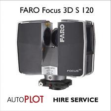 Faro Focus 3D S120 escáner de láser-Velocidad por 1/2 día Inc. Exp. topógrafo £ 295.00