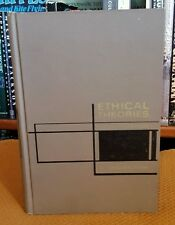 Ethical Theories: A Book of Readings by A. I. Melden (1967, Hardcover) VTG