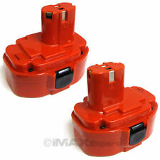 2 x 18V 2.0AH 1822 PA18 Battery for MAKITA 4334DWAE 5026DWA 6391DWPE 8391DWPE