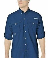 New Columbia PFG Bahama ll Mens 1X Roll-tab Long Sleeve Fishing Shirt XL  SALE