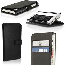 PU Cuero Funda Cartera Piel para Sony Xperia Z5 E6603 E6653 Carcasa Soporte Case