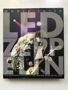 WHOLE LOTTA LED ZEPPELIN HARDBACK BOOK 2008 VOYAGEUR PRESS