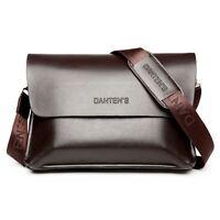 New Men's Bags Genuine Leather Casual Messenger Business Briefcase Shoulder Bag