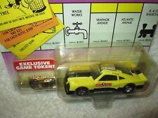 Johnny Lightning Monopoly Atlantic Avenue 75 Mustang Cobra II Racer
