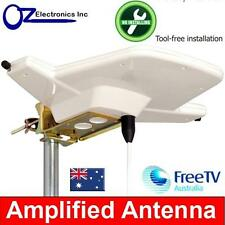 Digital TV Outdoor Amplified Antenna UHF VHF FM 4 AUSTRALIAN Caravan RV House