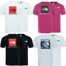 The North Face Red Box Celebration Mens T Shirt Printed Crew Neck Cotton Tee
