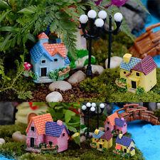DIY Miniature Fée Jardin Artisanat Résine Maison Micro Paysage DécorOP