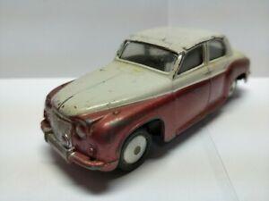 Corgi Toys Ref 204-A Rover 90 1956-60 Maroon/ Gray VG NO Box 1/43 Diecast