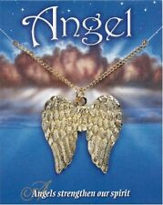 Angel Wings Pendant - Gold Plated