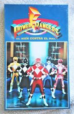 POWER RANGERS BOARD GAME: BIEN CONTRA MAL (1994, SABAN). BRAND NEW IN SEALED BOX